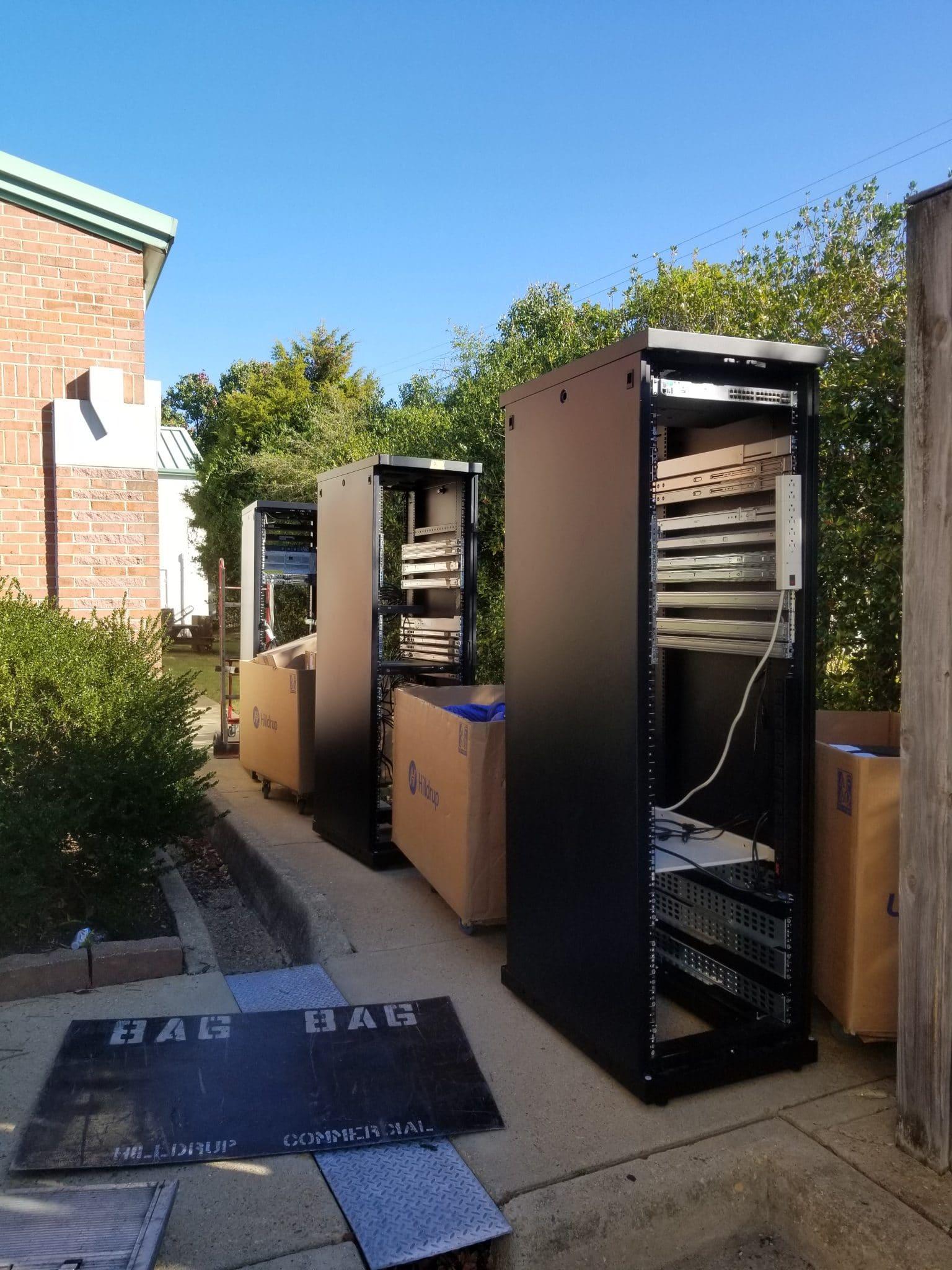 Moving data center