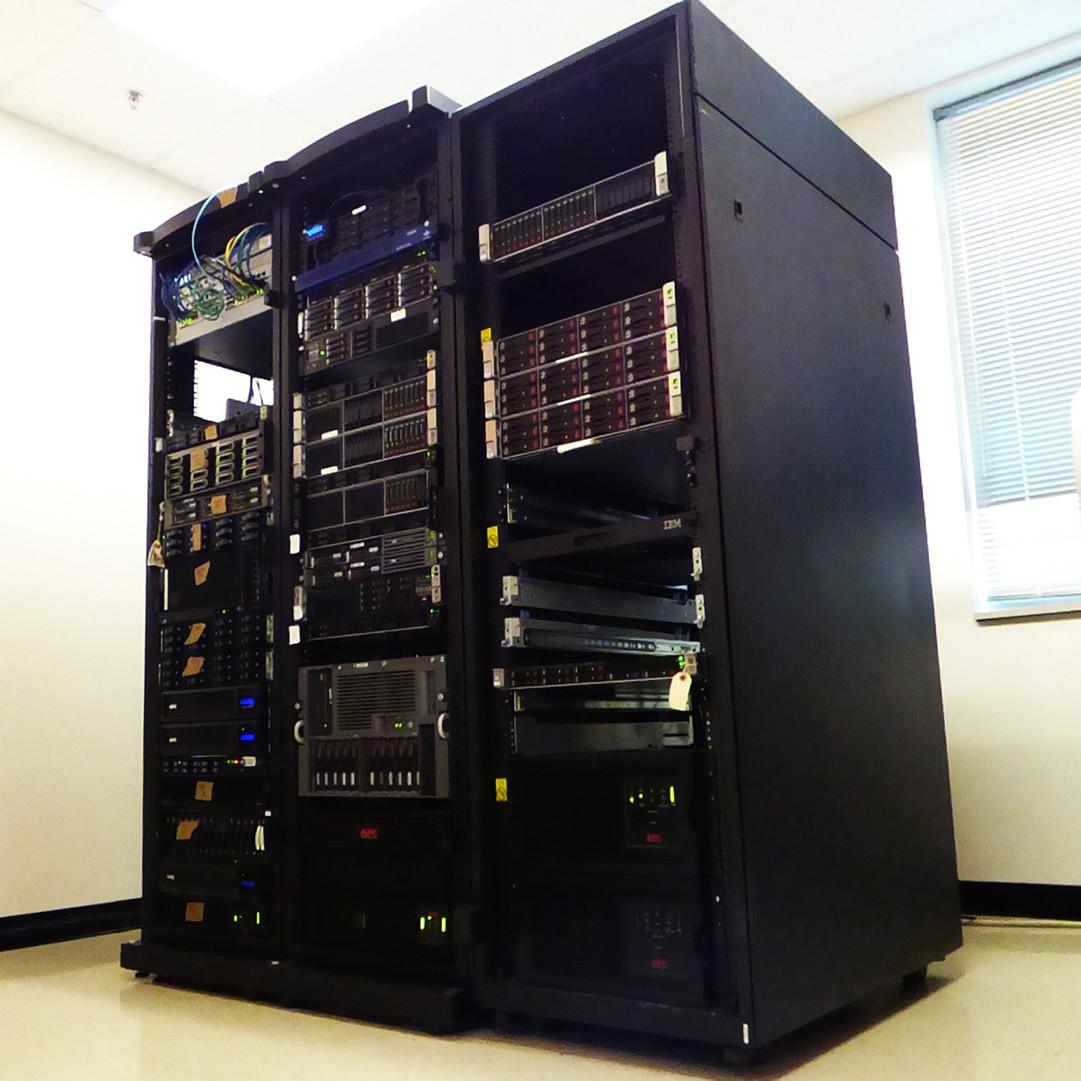 Complete data center move